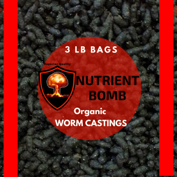 Nutrient Bomb Worm Castings