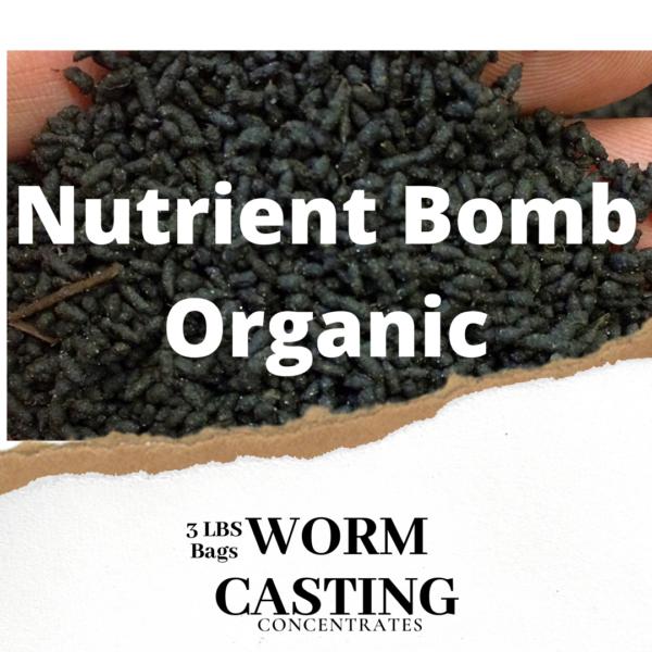 Nutrient Bomb Worm Casting