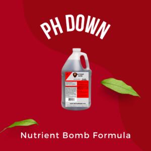 ph down hydroponic nutrients